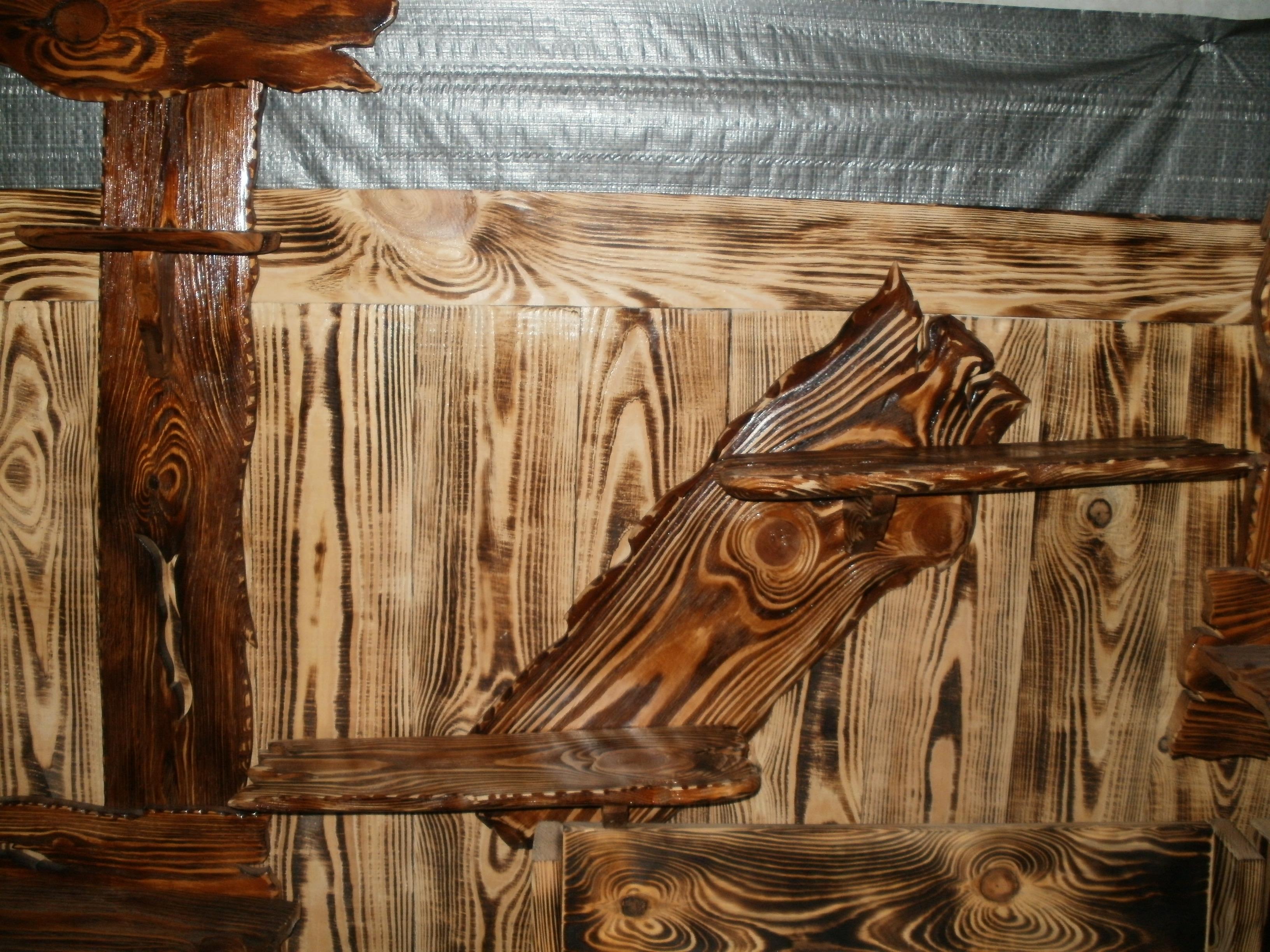 Поделки из состаренного дерева фото